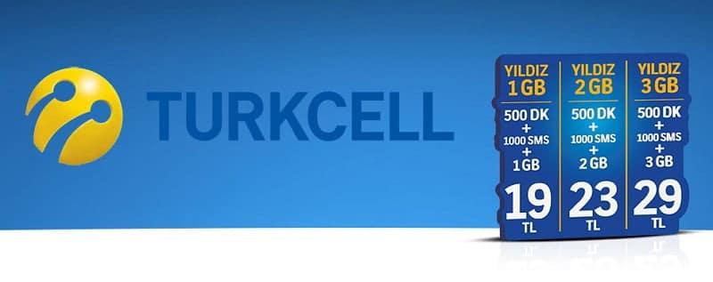 Turkcell paket iptali ve işlemleri