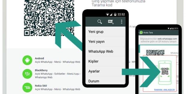 whatsapp web iptal etme nasıl yapılır