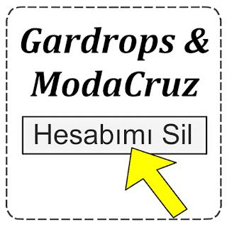 Gardrops Hesabı Nasıl Silinir?