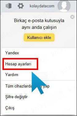 Yandex Hesap Silme