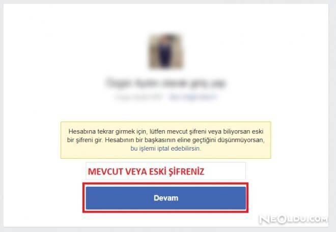 Çalınan Facebook Hesabını Silme - Şikayet Etme- Kapatma