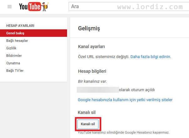 YouTube Üyelik İptali - YouTube Hesap silme Nasıl Yapılır?
