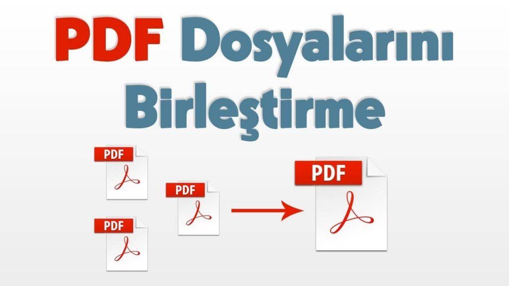 PDF Sayfa Birleştirme Nasıl Yapılır?
