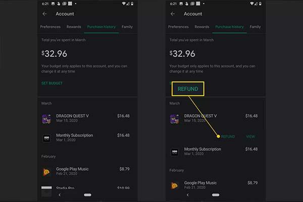 Google play para iadesi - Google play geri ödeme