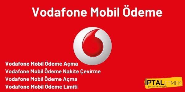 Vodafone Mobil Odeme